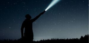 Flashlight stars